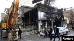 اعتراضهای اخیر در ایران - عکس از آرشیو