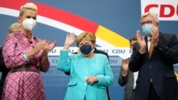 ဂ်ာမနီ ၫြန္႔ေပါင္းအစိုးရဖဲြ႔စည္းေရး ေျပလည္ေအာင္ ညႇိႏႈိင္းၾကဖို႔ Angela Merkel တိုက္တြန္း