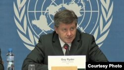 ILO's Director General Guy Ryder, Jan 20, 2014.