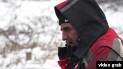 Demobilisani borac na petlji Šićki Brod, Tuzla, 1. mart 2018.