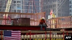 Строительство мемориала на месте терактов 11 сентября
