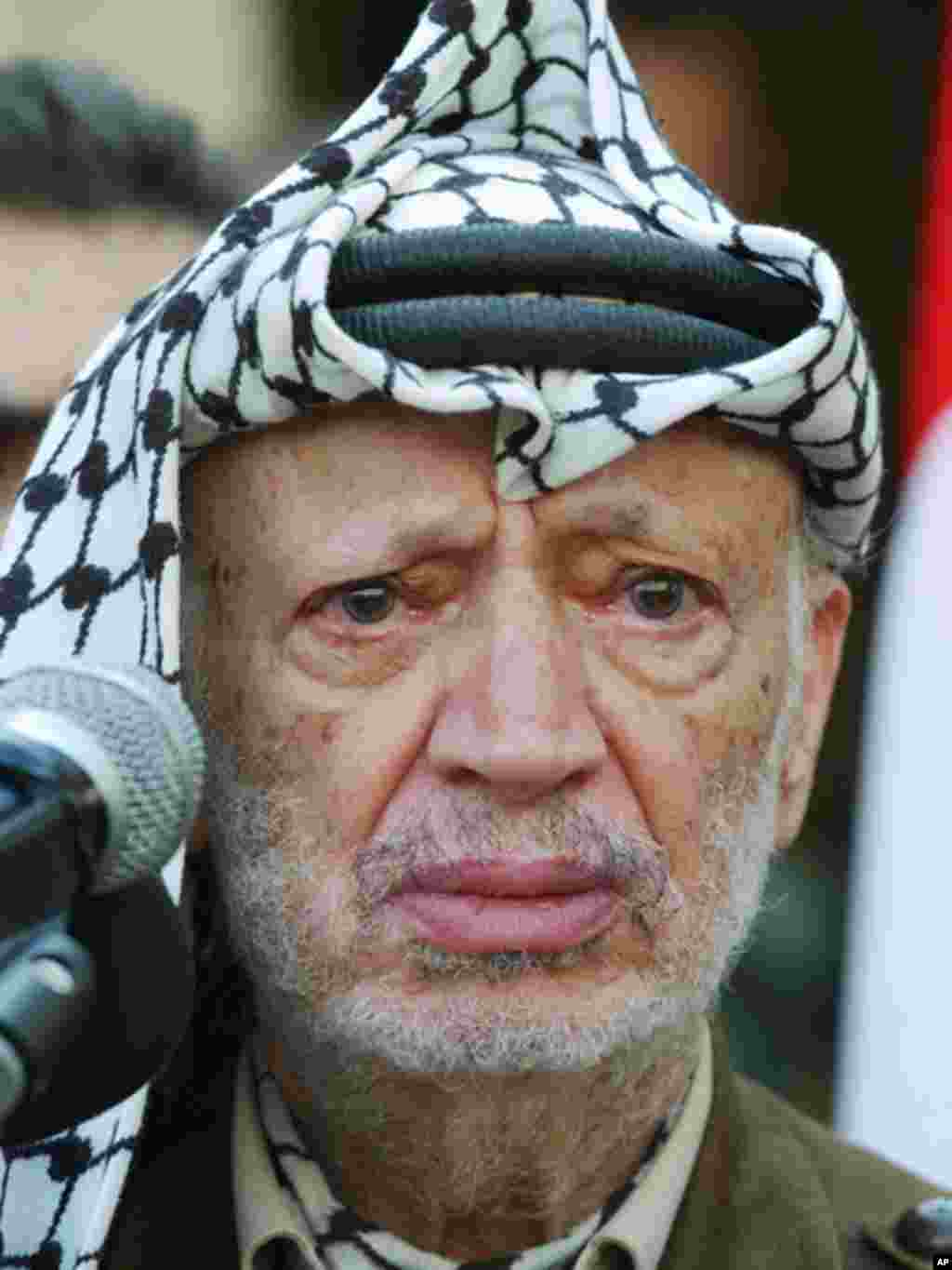 Palestinian leader Yasser Arafat, the founder of the Fatah movement, died in November 2004. (AP)