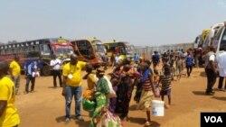 Abarundi Bashasha batahutse i Makamba bavuye i Nduta muri Tanzaniya, itariki ya 14, 9, 2017