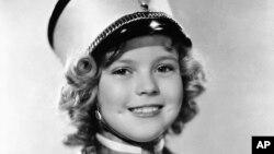 """Shirley Temple en la película """"Poor Little Rich Girl"""", a la edad de ocho años."""