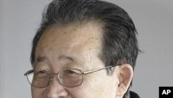 朝鲜第一副外相、前核谈判首席特使金桂冠(资料照片)