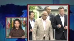 VOA连线:八国集团就朝鲜问题强硬表态