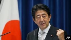 아베 신조 일본 총리 (자료 사진)