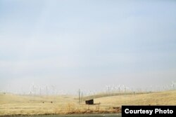 Đồi cối xay gió ở Arizona