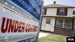 De junio a julio el precio de las casas aumentó, pero menos de los esperado por los economistas.