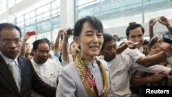 緬甸反對派領袖昂山素姬