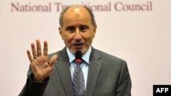 Глава Переходного национального совета (ПНС) Мустафа Абдель Джалиль