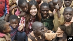 Hean Polyne is working as an intern for the Stara Rescue Center and School in Kibera, one of the world's largest slums.