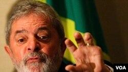 Ansyen prezidan Brezilyen an Luiz Inacio da Silva (foto achiv)