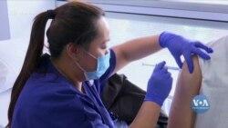 Компанія «Модерна» розпочала третю фазу клінічних випробувань потенційної вакцини від коронавірусу. Відео