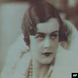 Clare Hollingworth in her youth