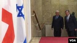 ბენიამინ ნეთანიაჰუმ კვირიკაშვილს Beit Aghion-ის რეზიდენციაში უმასპინძლა