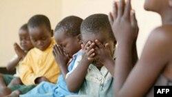 Детский дом для зараженных ВИЧ в Зимбабве