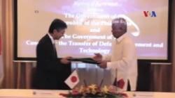 Nhật cung cấp võ khí cho Philippines giữa tranh chấp Biển Đông