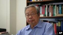 2009年方励之在美国亚利桑那大学接受采访