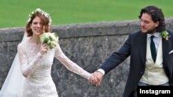 کیت هرینگتون و رز لزلی ازدواج کردند