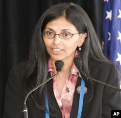 美国国务院负责南亚事务和中亚事务的助理国务卿妮莎•毕斯瓦(Nisha Biswal)。(资料照片)