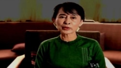 Burma's Aung San Suu Kyi Congratulates VOA on 70th Anniversary