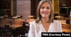 مردیت وییرا، مجری برنامه صدکتاب محبوب در شبکه پی بی اس آمریکا