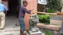 台湾日治石像被毁褒贬不一