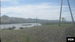 俄羅斯蒙古邊境地區,離布爾杜內演習場不遠