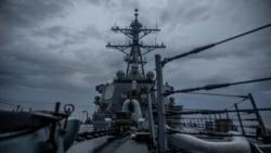 美國海軍第七艦隊再次穿越台灣海峽