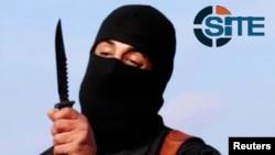이슬람 수니파 무장단체 ISIL이 서방 인질들을 참수하는 동영상에 등장한 '지하드 존'. (자료사진)
