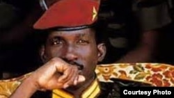 FILE - Thomas Sankara