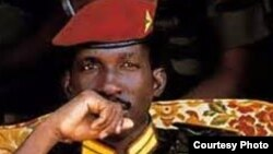 FILE - Thomas Sankara