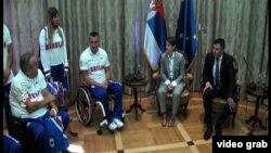 Prijem za paraolimpijce u Vladi Srbije