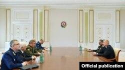 Prezident İlham Əliyev Rusiya Silahlı Qüvvələrinin Baş Qərəgah rəisi Valeri Gerasimov ilə görüşüb