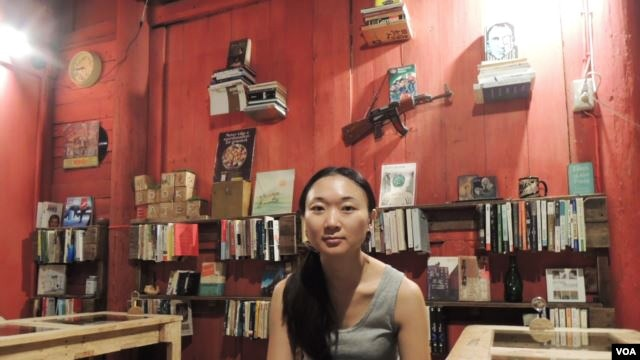 Ms. Koo emigrated in March to Taiwan where she opened a café/bookstore.