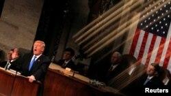 Predsednik SAD Donald Tramp govori o stanju nacije u Kongresu
