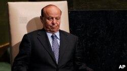 Predsednik Jemena Abed Rabo Mansur Hadi (arhivski snimak)
