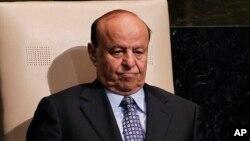 Presiden Yaman Abd Rabbuh Mansour Hadi (Foto: dok).