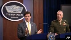 Savunma Bakanı Mark Esper ve Genelkurmay Başkanı Joseph Dunford