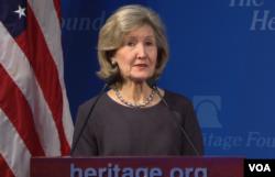 ABD'nin NATO Büyükelçisi Kay Bailey Hutchison