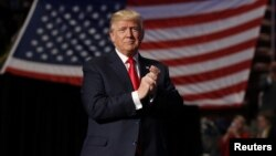 FILE - U.S. President-elect Donald Trump