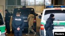 تصویر آرشیوی از ماموران پلیس در آلمان