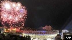 Відкриття «Олімпійського» у Києві