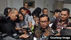 Sekretaris Kabinet Pramono Anung di Kantor Presiden, Jakarta (22/6). (Foto: Humas Sekretaris Kabinet)
