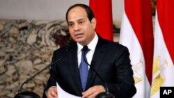 Presiden Mesir Abdel Fattah el-Sissi menyerukan dalam pidatonya agar putusan pengadilan dihormati (foto: dok).