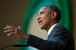 Chris Gande Reports on President Barack Obama's Speech While in Ethiopia
