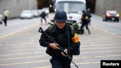 지난 18일 서울에서 미한 연례 연합훈련인 을지프리덤가디언 연습의 일환으로 대테러 훈련을 실시했다.