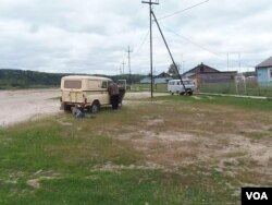 民生狀況變壞,俄羅斯人對普京失望。俄羅斯西伯利亞北部的農村。(美國之音白樺)