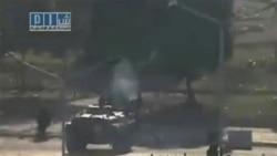 تانک های سوریه میدان اصلی حما را اشغال کردند